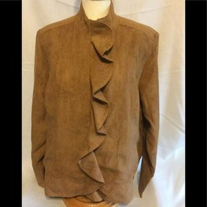 Christopher & Banks New With Tags Brown Jacket XL